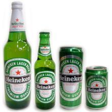 Heineken Beer Bottles and Cans