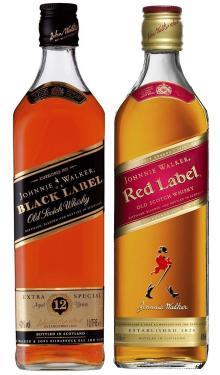 Johnnie Walker Scotch Black Label 12 years old