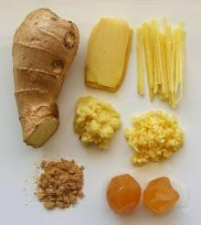 Ginger (Fresh,Dried,Dried Slices,Ginger Powder and Sushi Ginger (Pickled Ginger