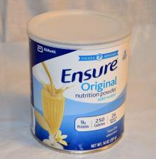 Ensure Original Nutrition Powder, Vanilla, 14 oz (Pack of 6)