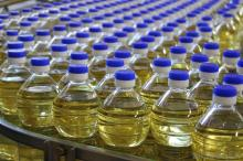 100% Pure and Refined Edible Sunflower Cooking Oil at Cheap Rate