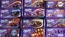 Milka Chocolates Bars