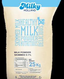 Skimmed Milk Powder, 25KG (0% Fat)