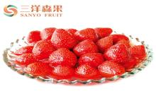 Fresh Organic Canned Fruit , Canned Strawberries In Syrup ISO Certificate