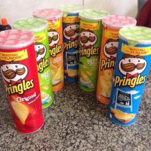 PRINGLES POTATO SNACKS (45/165/190g)