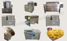 Small Potato Chips Processing Plant