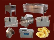Semi-Automatic Banana Chips Plant