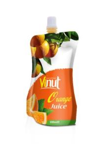 Manufacturer orange juice in Bag 100ml
