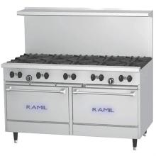 Gas Ranges - 10 burners