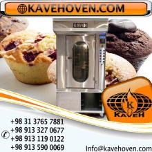 Mini rotating oven suitable for small workshops