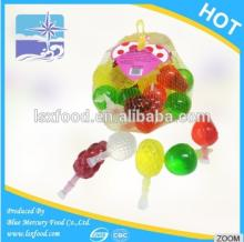 Jelly Assorted Fruit Shape