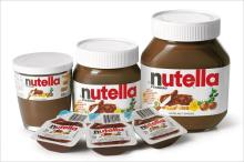 Ferrero Nutella Chocolate Spread Cream 350g, 400g, 600g, 750g, 800g