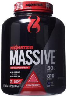 Cytosport Monster Massive  Nutrition al Drink, Protein Supplement Mix, Strawberry