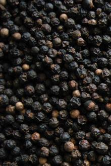 High quality dried black pepper