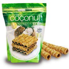Crispy coconut rolls 265g
