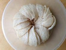Dried edible birth nest
