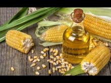 Refined corn oil