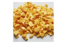 Dried papaya dice