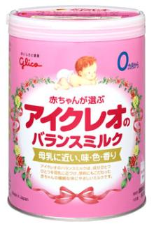Miik powder Icreo balance Dried whole milk JAPAN
