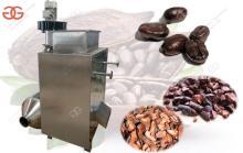 Commercial Cocoa Bean Skin Peeling Machine Manufacturer
