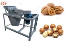 High Quality Walnut Shelling Machine Macadamia Nut Sheller Machine For Sale