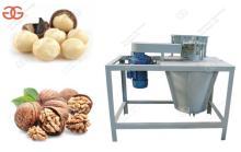 Macadamia Nut Hawaii Nut Sheller Machine Manufacturer