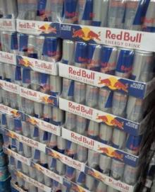 Red Bull Energy Drinks, Monster Energy drinks, Coca Cola soft drinks