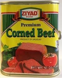 Halal corned beef