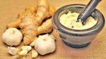 Fresh ginger n Natural Garlic