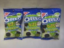 OREO Bits Sandwich Matcha Green Tea Latte Chocolate Cookie Biscuit