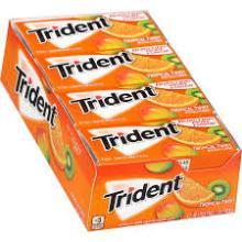 Trident Sugar Free Gum: Tropical Twist