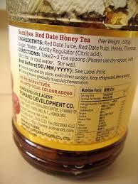 Date honey juice