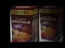 Coffee Tea Jacobs CAPPUCCINO Specials
