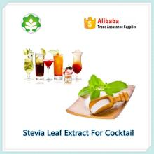 stevia leaf extract as flavoring  agent  for cocktail