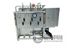 High pressure flat diaphragm test equipment