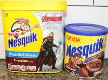 Nesquik milk