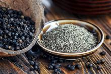 hot saled .black. pepper. used as healthy food. additive