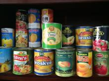 importing canned foods for pizza