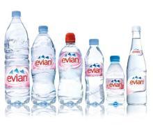 Natural Minera Evianl Water