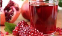 Grade A Pomegranate Juice & Pomegranate Concentrate