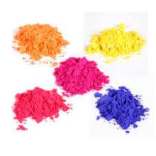 Iron oxide bright color with strong color given