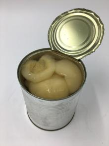 820g Canned dangshan pear in light syrup with OEM brand