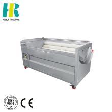 Automatic vegetable peeler and cleaner / electric peeler / potato washing peeling machine