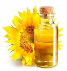 100% SUNFLOWER OIL./////