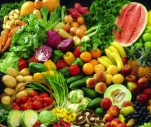 FRESH FRUITS & VEGETABLES