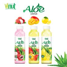 Supplier VINUT Plastic Bottle aloe vera juice drink original with pulp
