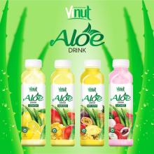 VINUT 500ml Plastic Bottle With QS Original flavor Aloe vera drink
