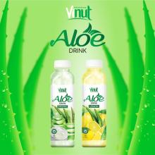2018 HOT SALE VINUT 500ml original flavor aloe vera drink