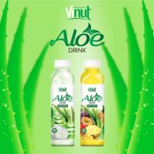 VINUT Hot Product 100% Fresh 500ml Original Flavor Aloe Vera Soft Drink