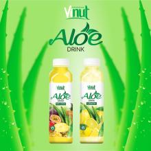 VINUT original flavored and fresh aloe vera drink with pulp